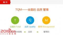 苏州TQM-全面质量管理培训